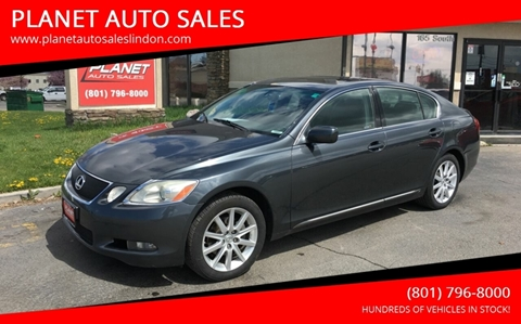 2006 Lexus GS 300 for sale at PLANET AUTO SALES in Lindon UT