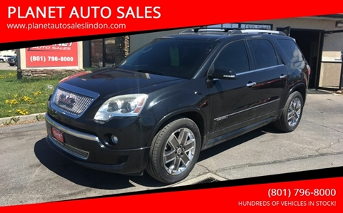 2012 GMC Acadia for sale at PLANET AUTO SALES in Lindon UT