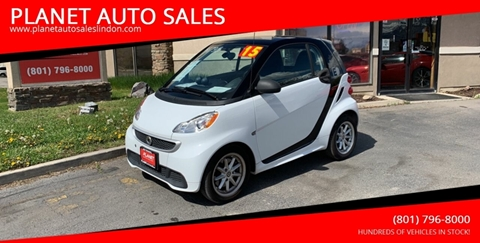 2015 Smart fortwo electric drive for sale at PLANET AUTO SALES in Lindon UT