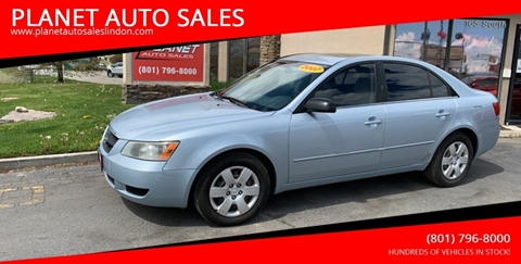 2007 Hyundai Sonata for sale at PLANET AUTO SALES in Lindon UT