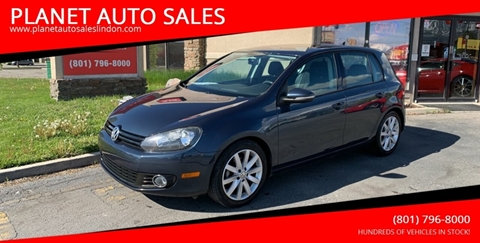 2011 Volkswagen Golf for sale at PLANET AUTO SALES in Lindon UT