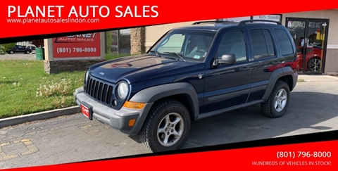 2007 Jeep Liberty for sale at PLANET AUTO SALES in Lindon UT