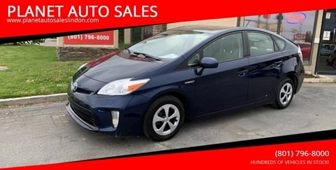 2013 Toyota Prius for sale at PLANET AUTO SALES in Lindon UT
