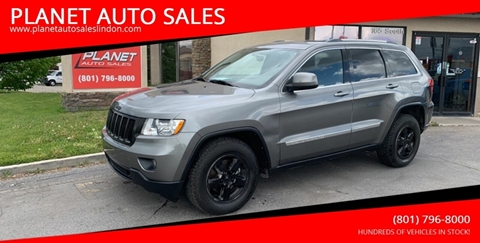 2012 Jeep Grand Cherokee for sale at PLANET AUTO SALES in Lindon UT