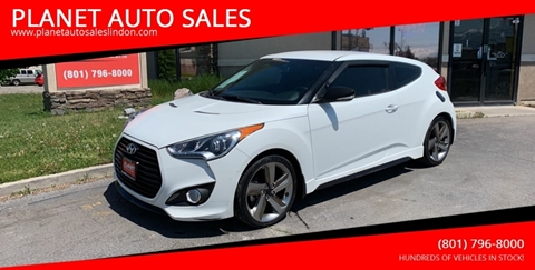 2013 Hyundai Veloster Turbo for sale at PLANET AUTO SALES in Lindon UT