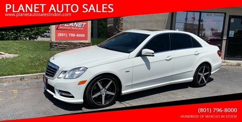 2012 Mercedes-Benz E-Class for sale at PLANET AUTO SALES in Lindon UT