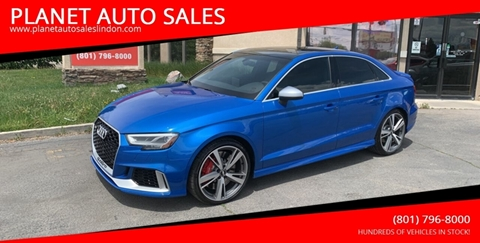 2017 Audi RS 3 for sale in Lindon, UT