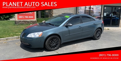 2005 Pontiac G6 for sale at PLANET AUTO SALES in Lindon UT