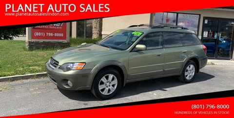 2005 Subaru Outback for sale at PLANET AUTO SALES in Lindon UT