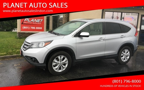 2012 Honda CR-V for sale at PLANET AUTO SALES in Lindon UT