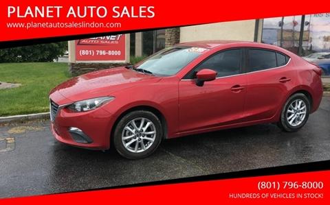 2014 Mazda MAZDA3 for sale at PLANET AUTO SALES in Lindon UT