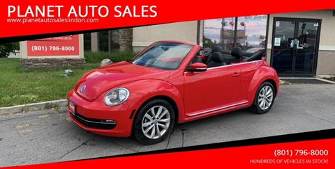 2014 Volkswagen Beetle for sale at PLANET AUTO SALES in Lindon UT