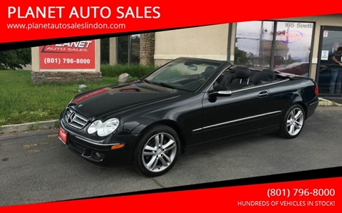 2006 Mercedes-Benz CLK for sale at PLANET AUTO SALES in Lindon UT