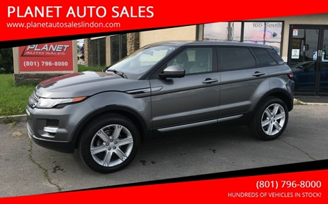 2015 Land Rover Range Rover Evoque for sale at PLANET AUTO SALES in Lindon UT