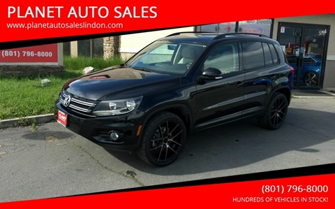 2012 Volkswagen Tiguan for sale at PLANET AUTO SALES in Lindon UT