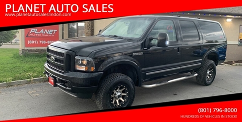 2004 Ford Excursion for sale at PLANET AUTO SALES in Lindon UT