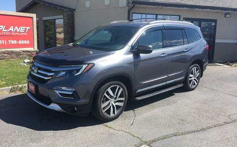 2016 Honda Pilot for sale at PLANET AUTO SALES in Lindon UT