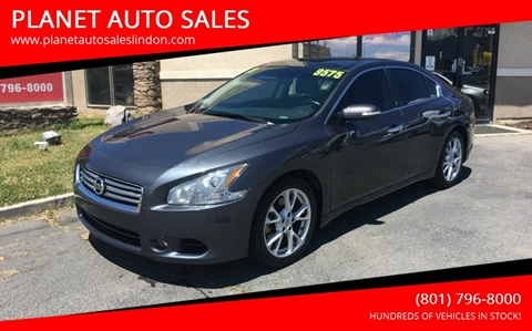 2013 Nissan Maxima for sale at PLANET AUTO SALES in Lindon UT