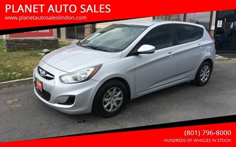 2014 Hyundai Accent for sale at PLANET AUTO SALES in Lindon UT