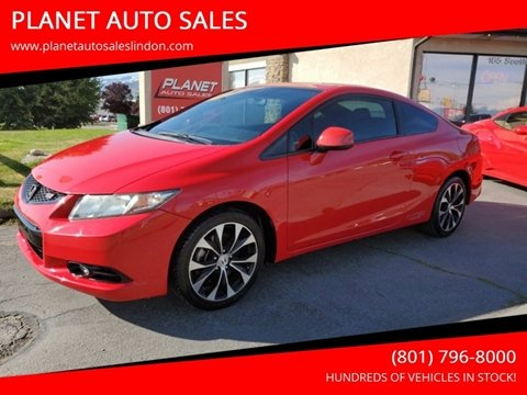 2013 Honda Civic for sale in Lindon, UT