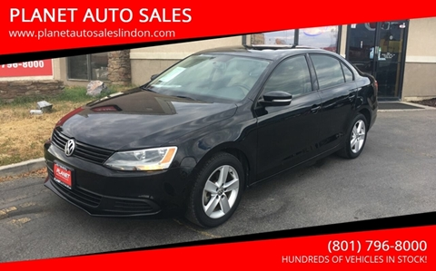 2012 Volkswagen Jetta for sale at PLANET AUTO SALES in Lindon UT