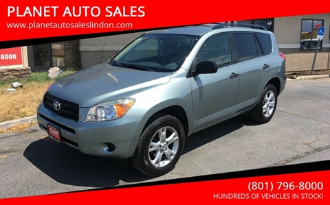 2007 Toyota RAV4 for sale at PLANET AUTO SALES in Lindon UT