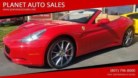 2011 Ferrari California for sale in Lindon, UT