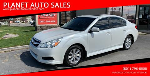 2011 Subaru Legacy for sale at PLANET AUTO SALES in Lindon UT
