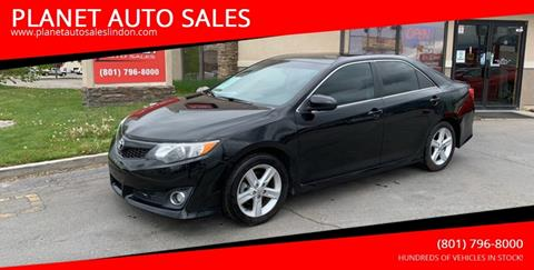 2012 Toyota Camry for sale at PLANET AUTO SALES in Lindon UT
