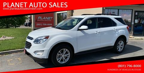 Chevy Equinox For Sale >> 2017 Chevrolet Equinox For Sale In Lindon Ut