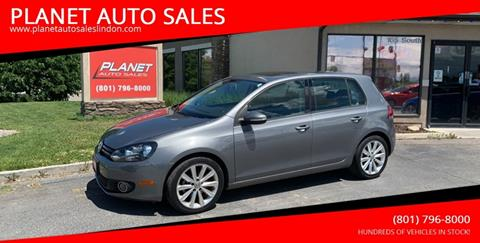 2013 Volkswagen Golf for sale at PLANET AUTO SALES in Lindon UT