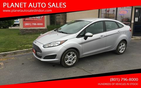 2015 Ford Fiesta for sale at PLANET AUTO SALES in Lindon UT