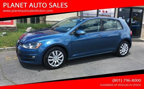 2015 Volkswagen Golf for sale at PLANET AUTO SALES in Lindon UT