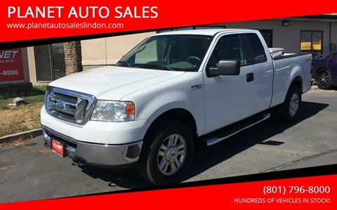 2008 Ford F-150 for sale at PLANET AUTO SALES in Lindon UT