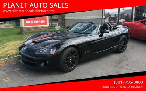 Dodge Vipers For Sale >> 2006 Dodge Viper For Sale In Lindon Ut