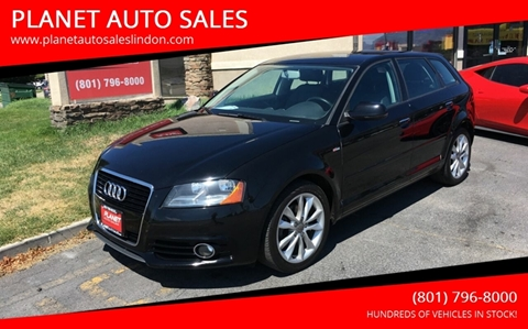 2012 Audi A3 for sale at PLANET AUTO SALES in Lindon UT