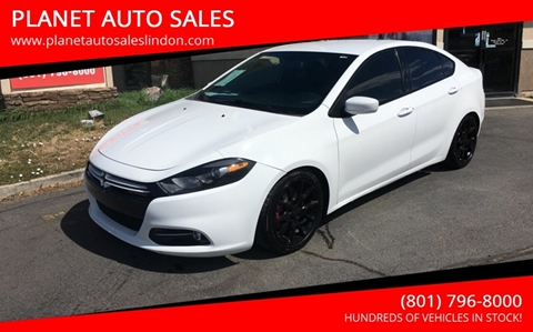 2013 Dodge Dart for sale at PLANET AUTO SALES in Lindon UT