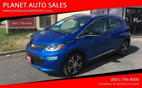 2017 Chevrolet Bolt EV for sale at PLANET AUTO SALES in Lindon UT
