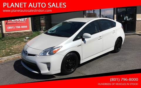 2015 Toyota Prius for sale at PLANET AUTO SALES in Lindon UT