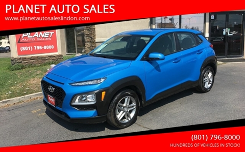 2019 Hyundai Kona for sale at PLANET AUTO SALES in Lindon UT