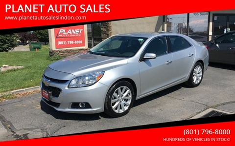 2016 Chevrolet Malibu Limited for sale at PLANET AUTO SALES in Lindon UT