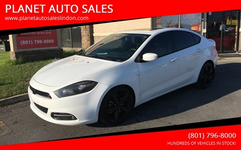 2015 Dodge Dart for sale at PLANET AUTO SALES in Lindon UT