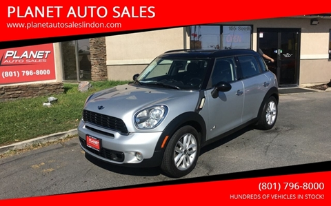 2012 MINI Cooper Countryman for sale at PLANET AUTO SALES in Lindon UT
