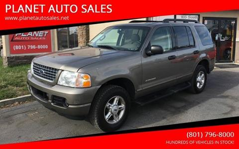 2005 Ford Explorer for sale at PLANET AUTO SALES in Lindon UT