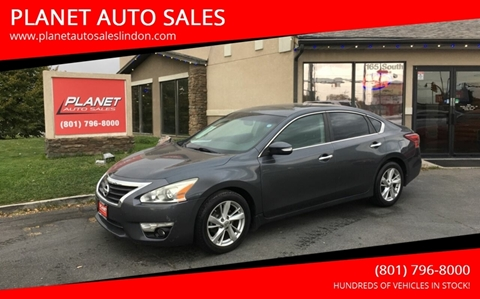 2013 Nissan Altima for sale at PLANET AUTO SALES in Lindon UT