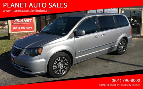 2014 Chrysler Town and Country for sale at PLANET AUTO SALES in Lindon UT