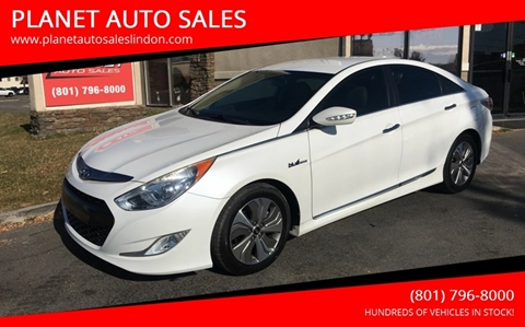 2013 Hyundai Sonata Hybrid for sale at PLANET AUTO SALES in Lindon UT