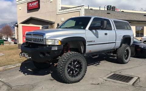 1999 Dodge Ram Pickup 2500 for sale at PLANET AUTO SALES in Lindon UT
