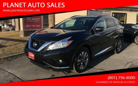 2017 Nissan Murano for sale at PLANET AUTO SALES in Lindon UT