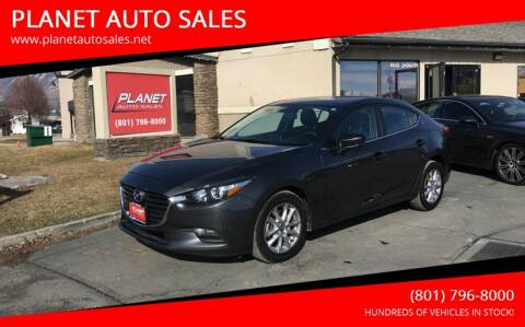 2017 Mazda MAZDA3 for sale at PLANET AUTO SALES in Lindon UT